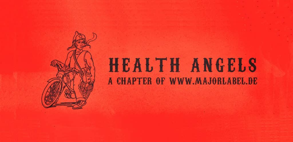 Health Angels Label